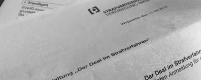 12.09.2018: Der Deal im Strafverfahren